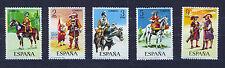 Sellos de España - 1974-español Uniformes Militares serie 2nd en condición estampillada sin montar o nunca montada