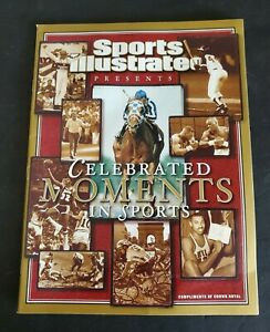 2004 Sports Illustrated Magazine Celebrated Moments In Sports By Crown Royal