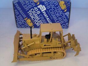 Fiat Allis 41-B Crawler Bulldozer 1/50 Scale Gescha Conrad Toy W Germany