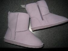 NWT BABY GAP GIRLS SNOW BRIGHTS LILAC BOOTS SIZE 11