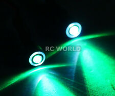 RC Racing Drone Quad LIGHT SYSTEM POWERFUL 10mm HALO LED  - GREEN - WHITE HALO
