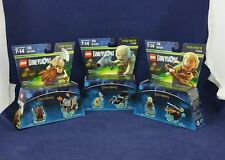 NEW LEGO DIMENSIONS Lord of the Rings Lot of 3 Fun Packs #71220, 71219 and 71218