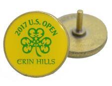 2017 Us Open (Erin Hills) - Yellow - Golf Ball Marker w/stem