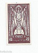 IRELAND 1940-68 5 SHILLING MAROON ST. PATRICK MM  SG 124  REF 48