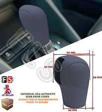 UNIVERSAL AUTOMATIC CAR DSG SHIFT GEAR KNOB COVER PROTECTOR GREY–Fits Nissan 1