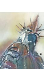Witch King of Angmar Nazgul Lord of the Rings Print Wall Fantasy Art Painting