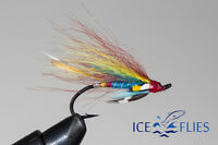 Salmon Fly,Blue Doctor, Single Hook. (3-pack) Pick a size. Fly Fishing Fly