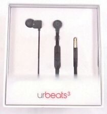 Beats by Dre MQFU2LL/A urBeats3 IN-Ear Headphone W/ 3.5MM PLUG BLACK