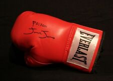 JUNIOR POISON JONES BANT WT CHAMP AUTOGRAPHED SIGNED EVERLAST BOXING GLOVE