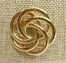 Pin from Napier A47) Pretty Vintage Gold-tone
