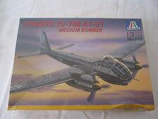 ITALERI 1/72 Junkers Ju 188 A1/E1 Luftwaffe Bomber  Kit #117  NEW Sealed