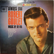 "Robert Goulet - Always You 1962 Columbia 12"" 33 RPM LP (EX)"