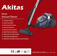 Japan Akitas Pro 2400W bagless cyclone vacuum cleaner Brand New Postage Free