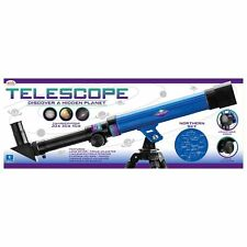 Toyrific Telescope Features Lens Cover & Focus Adjuster 3 Magnification Eyepiece