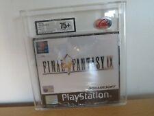 Neuf et Scellé D'Origine Final Fantasy Ix 9 pour Playstation 1 Ukg / VGA Gradé