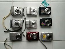 Lot Of 9 Digital Cameras Canon Nikon Fujifilm Olympus Samsung - Working