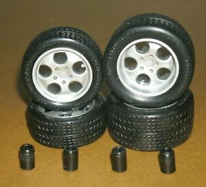 1/18 Scale Pirelli Cinturato P7 Tire Set on Lamborghini Diablo SE30 Rims Wheels