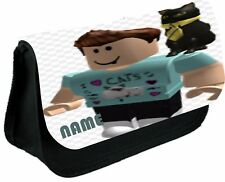 ROBLOX DENISE & CAT #1 PERSONALISED PENCIL CASE