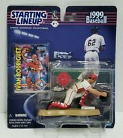 IVAN RODRIGUEZ - Texas Rangers Kenner Starting Lineup MLB SLU 1999 Figure & Card