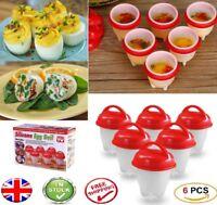 Christmas Hard Boiled Egglettes 6 Egg Cooker Gift Secret Santa UK Hot Box