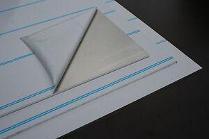 2 x Aluplatte 400x600x5 mm mit Schutzfolie Alublech Alu Platte Aluminium Blech