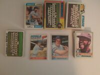 150+ 1970s 1973-77 Kansas City Royals Topps Baseball Card Lot EX-NM George Brett