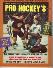 1971 Pro Hockey's magazine Bobby Orr Boston Bruins St. Louis Blues GOOD