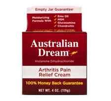 Australian Dream Arthritis Pain Relief Cream 4 oz FREE SHIP!!