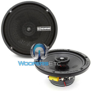 "MEMPHIS PRX602 6.5"" 100W 2WAY PEI TWEETERS COAXIAL SPEAKERS CAR AUDIO 6 1/2"" NEW"
