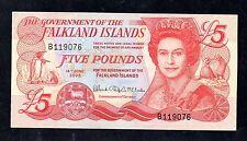 ~ las Malvinas £ 5 cinco libras Billete - 14th de junio de 2005 (P17) ~