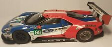 SCALEXTRIC 1:32 FORD GT GTE RACE CAR IN REASOBABLE CONDITION