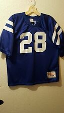 Vintage MARSHALL FAULK-INDIANAPOLIS COLTS Jersey- Youth XL (18-20) / Adult Small