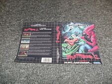 NEW REPLACEMENT SEGA MEGADRIVE GAME BOX ARTWORK - Cover Only - SPLATTERHOUSE 2