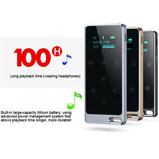 RUIZU X05 Ultrathin Metal Touch Button 8GB MP3 Player FM Recorder Gifts
