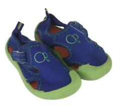 OP Ocean Pacific Blue Green Water Aqua Toddler Boys Girls Shoes Size S 5-6