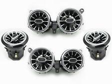Ambient Light Turbine Air Vent Set for Mercedes Benz W213 E Class E300 E63 6PCS