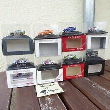 Herpa Konvolut 1:87 H0, 8 Stück PKW + DTM Rennwagen in Box, sehr gut Konvolut 1