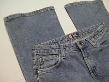 LEI l.e.i. Exclusive 00/04 Denim Blue Jeans Pants Womens Size 9 Flare Stretch