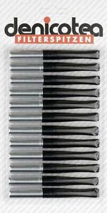 10 Filter Denicotea Zigarettenspitze Vision rot 77mm länge