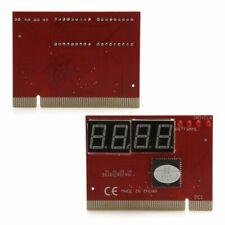 PC 4 Digit Diagnostic Analyzer Card Motherboard Tester - UK seller