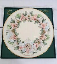 Lenox Limited Edition 13 Colonies Christmas Wreath Plate 1993 Georgia Nib