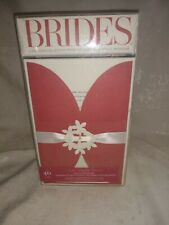 NOS Brides 40 Count Printable Invitation Kit red Beautiful!