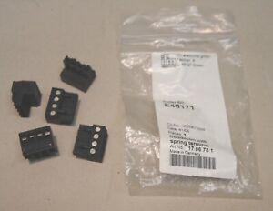 IFM Electronic Combicon Stecker E40171 4-polig Schraubanschluss NEU/OVP