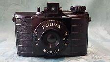 Pouva Start Kamera Analog Ledertasche Rollfilm alt sammeln 8532