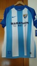 Camiseta oficial casa Málaga CF 2017/2018 talla M Iturra