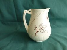Antique Avalon Faience Baltimore Majolica Buttercup Syrup Pitcher No Cover