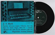 """J.S.BACH - """"CHRIST DER DU BIST DER HELLE TAGE"""" 33 giri EP 7"""" ANGELICUM 17LPA7017"""