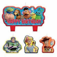 Toy Story Birthday Candle Set 4 pc Cake Topper