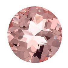 Natural Round Morganite Loose Gemstones Variation All Sizes Available
