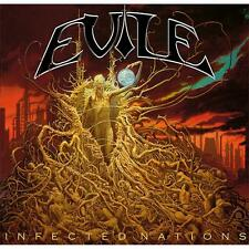 "Evile ""Infected Nations"" CD/DVD - NEW"